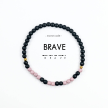 Morse Code Bracelet // Brave
