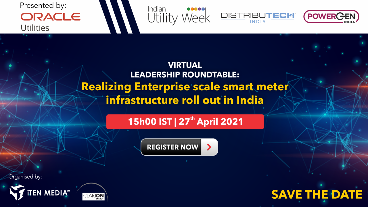 """""""Realizing Enterprise scale smart meter infrastructure roll out in India"""""""