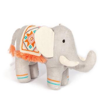 'EDEN' TRIBAL ELEPHANT STUFFED TOY
