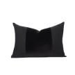 Asha Velvet Pillow - Shungite