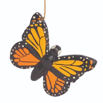 Butterfly Confetti Ceramic Ornament