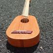 pineapple shape handmade ukulele