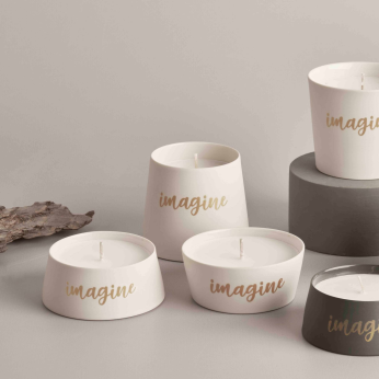 DECORATIVE OBJECTS Imagine Small Candle