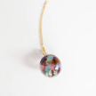 Sari Resin Sphere Pendant Necklace - Medium