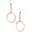 F.R.E.E. Woman Solidarity Hammered Copper Earrings & Necklace