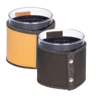 ecoLIFT: Set of 2 Drink Sleeves with Glasses Included