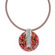 Nature Bijoux Amazonia Round Pendant Necklace
