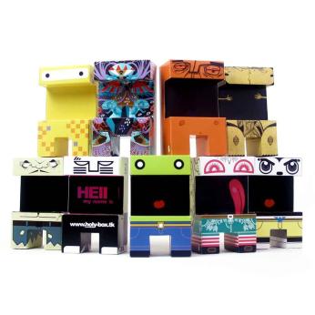 "Paper toys series 1 ""Original"""