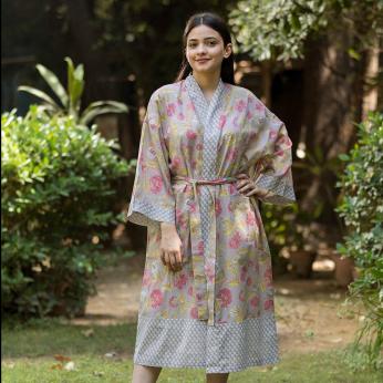 Florentine Silver Kimono