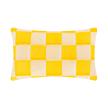 Caro Organza Cushion   Yellow
