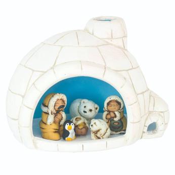 Igloo Nativity Set