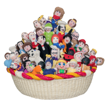 People Mix Organic Cotton Finger Puppets