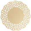 High Quality Paper Placemats - Wishes Collection - Color: Gold