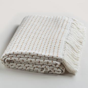 Handwoven Brown Point Blanket