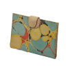 Lao Passport Wallet Marbled Leather