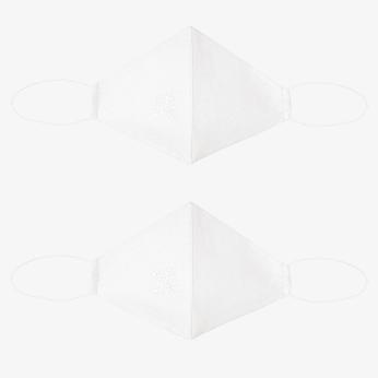 White Kandahari Masks