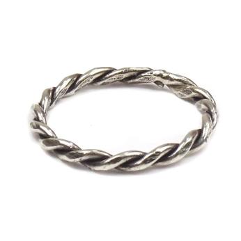 Tribal twist Sterling Silver Ring