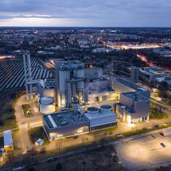Heizkraftwerk, Cottbus, Deutschland