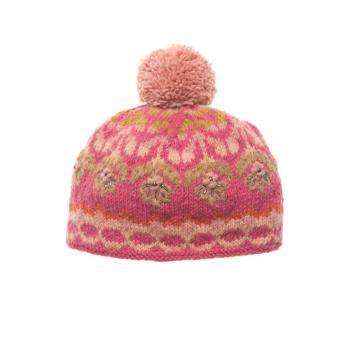 Cozy Floral Hata - Pink