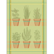 Mierco Herbs Jacquard Tea Towel