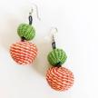 Iraca Candy Double Earrings