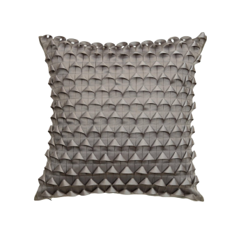Ribbon Piecing Throw Pillow Cover