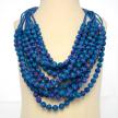12 Strand Sari Necklaces
