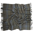 Prince of Scots Highland Tweed New Wool Fluffy Throw ~ Antique Hunting Stewart ~