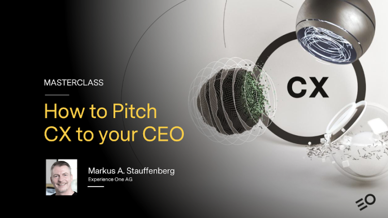 How to Pitch CX to Your CEO