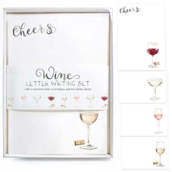 Wine Letter Writing Kit