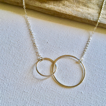 Rings of Hope Necklace