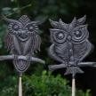 Owl Garden Stakes