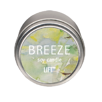 4 oz. Soy Candle in tin - Breeze