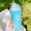 Ice Cream Sundae Tumbler - Blue Bubblegum