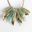 Eco-Resin 25 Grand Itzel Stones Statement Necklace
