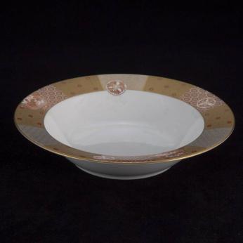 Gold Patterned - Soup Bowl