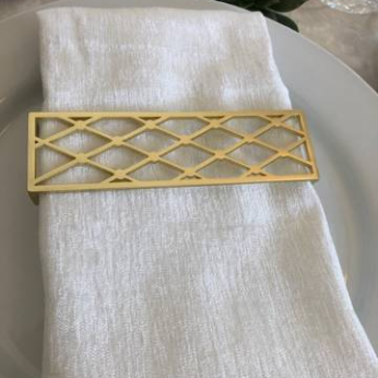 Luxe Napkins in White