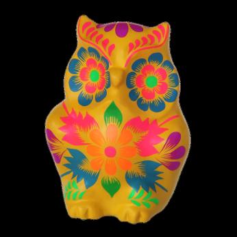 Fiesta Owl Yellow - Medium