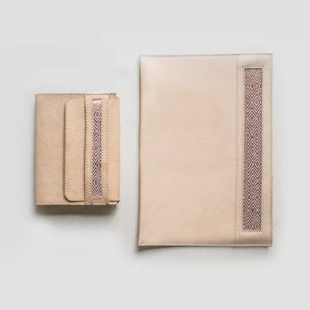 Copper & Leather Set
