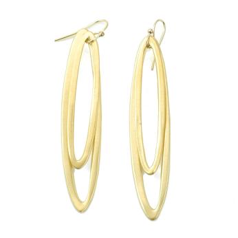 med & large ovals earrings