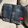 Revved Up Laptop Bag with Buckle Closure - Red Logo