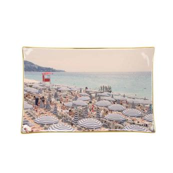 Gray Malin French Riviera Porcelain Tray