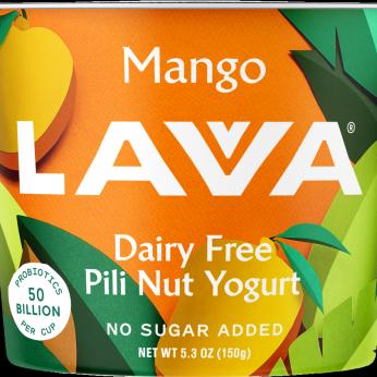 Dairy Free Pili Nut Yogurt, Mango 5.3oz