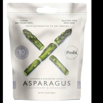 Poshi - Steamed & Marinated Asparagus -Rosemary & Oregano 1.34oz