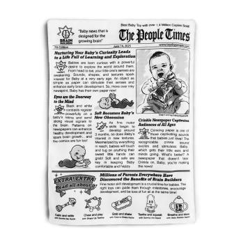 People Times: Crinkle Newspaper