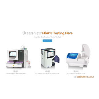 Your One-Stop Supply of HbA1c Testing (HPLC)