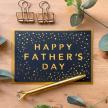 Happy Father's Day confetti card