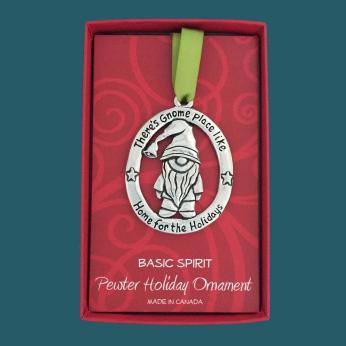 Gnome Holiday Ornament