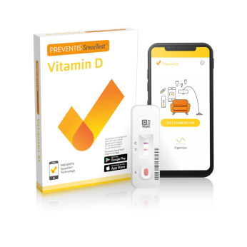 Preventis SmarTest® Vitamin D (Home) - Determine your vitamin D level easily, quickly and conveniently from anywhere!