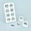 57.Handmade Jewelry - LEVER-BACK EARRINGS 12pcs. & DISPLAY (DX8)